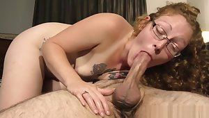 Redhead MILF Ivy McNea compilation feat pulsating cock cum in mouth clips
