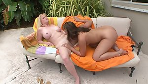 Horny pornstars Jessica Star and Cameron Keys in best lesbian, brazilian xxx mistiness