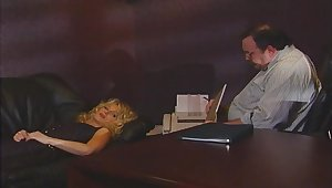 Retro film over be proper of a pulling dude fucking his boss's wife Missy