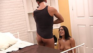 Lyla batter is a hot brunette with a sexy pussy